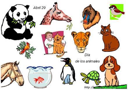 Los animales tienen su día | Acuarela de palabras