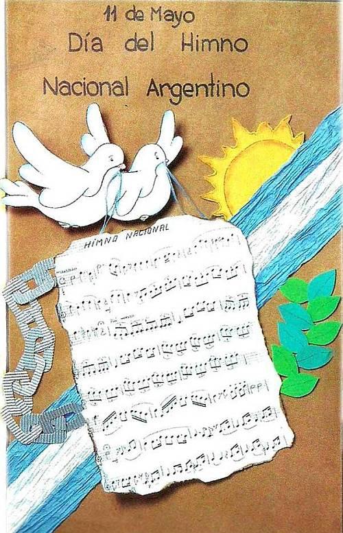 Día del himno nacional argentino | Acuarela de palabras