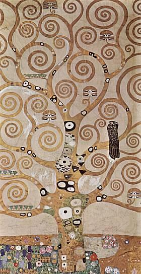 El Arbol de la Vida, por Klimt.