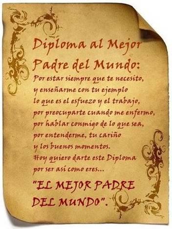 Diploma-padre
