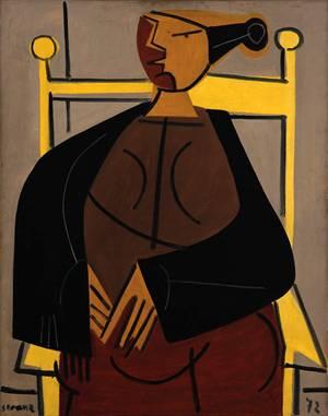 La silla amarilla, Luis Seoane
