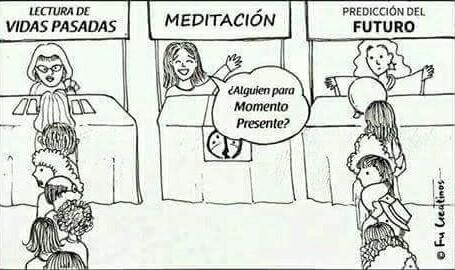 meditacion pasado futuro
